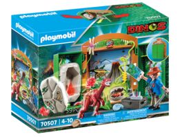 PLAYMOBIL 70507 Spielbox Dinoforscher