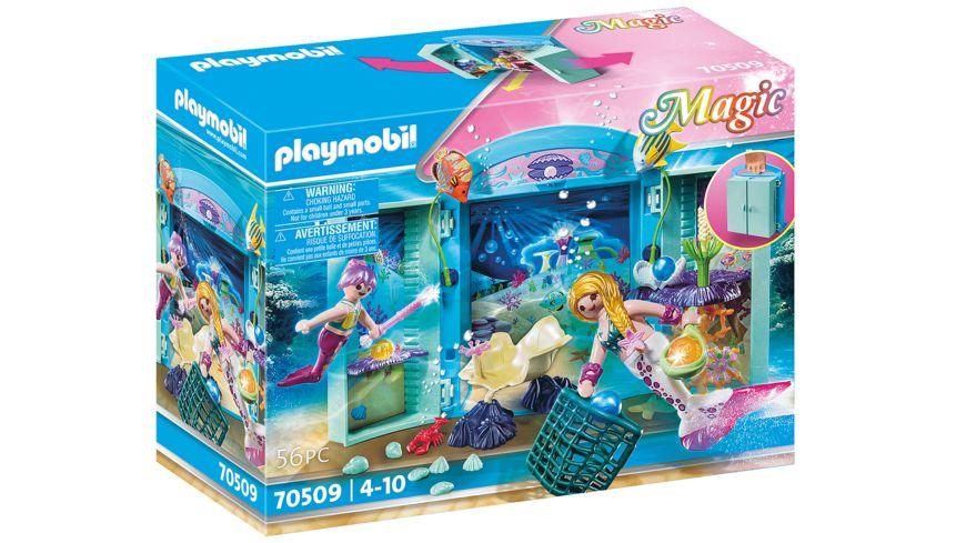 "PLAYMOBIL 70509 - Spielbox ""Meerjungfrauen"""