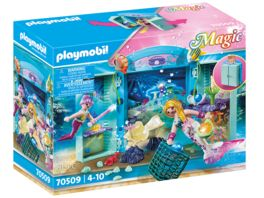 PLAYMOBIL 70509 Spielbox Meerjungfrauen