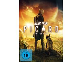 STAR TREK Picard Staffel 1 4 DVDs