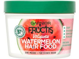 GARNIER FRUCTIS Volumen Watermelon Hair Food 3 in 1 Maske
