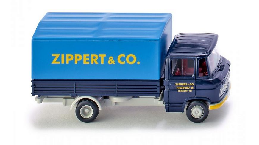 WIKING 027101 1 87 Pritschen Lkw MB L 408 Spedition Zippert Co