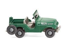 WIKING 001103 1 87 Jeep W W Holzbau