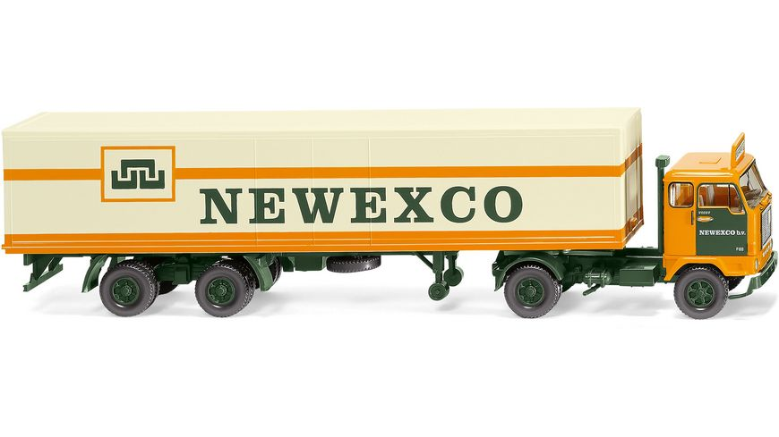 "WIKING 054202 -  1:87 Koffersattelzug (Volvo F88) ""Newexco"""
