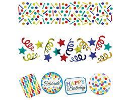 Amscan Konfetti Bright Birthday 34 g