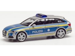 Herpa 95501 Audi A4 Avant Polizei Ingolstadt