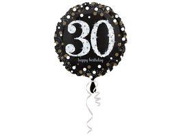Amscan Sparkling Birthday 30 Folienballon S55