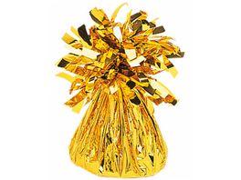 Amscan Ballongewicht Folie gold 170 g 6 oz