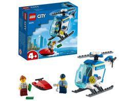 LEGO City 60275 Polizeihubschrauber
