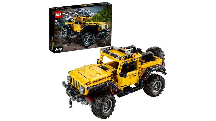 LEGO 42122 Technic Jeep Wrangler, Konstruktionsspielzeug