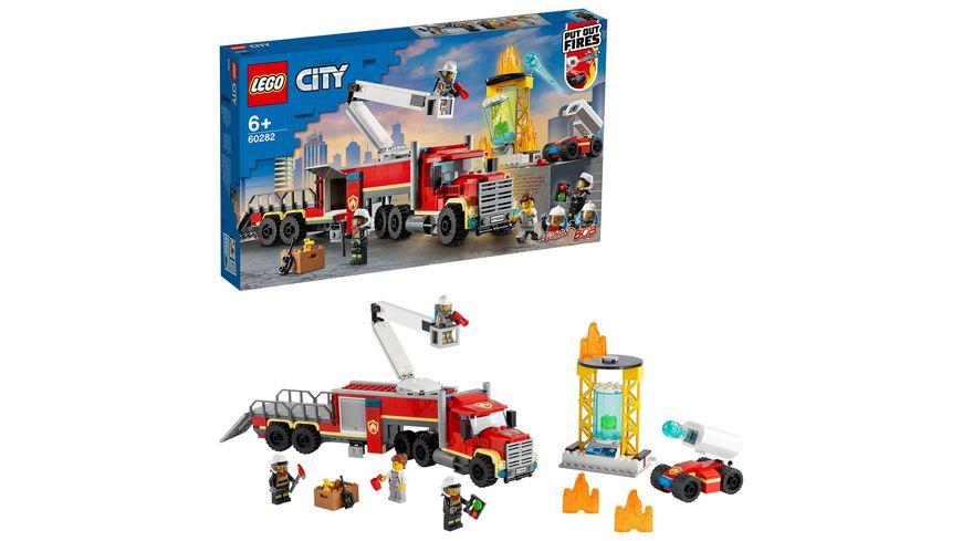 LEGO 60282 City Mobile Feuerwehreinsatzzentrale, Konstruktionsspielzeug