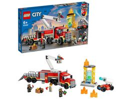 LEGO 60282 City Mobile Feuerwehreinsatzzentrale Konstruktionsspielzeug