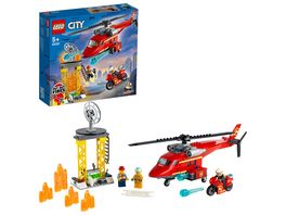 LEGO 60281 City Feuerwehrhubschrauber Konstruktionsspielzeug