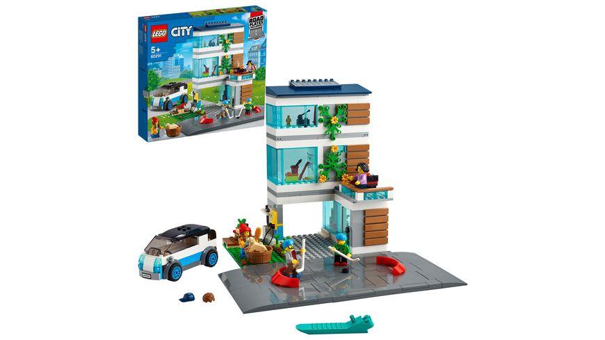 LEGO 60291 City Modernes Familienhaus, Konstruktionsspielzeug