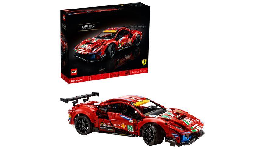 LEGO Technic 42125 Ferrari 488 GTE AF Corse 51