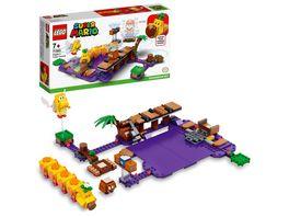LEGO 71383 Super Mario Wigglers Giftsumpf Erweiterungsset Spielzeug