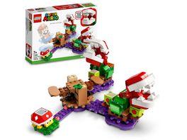 LEGO 71382 Super Mario Piranha Pflanzen Herausforderung Erweiterungsset