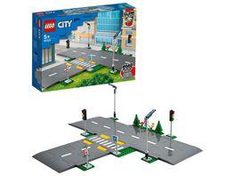 LEGO City 60304 Strassenkreuzung mit Ampeln