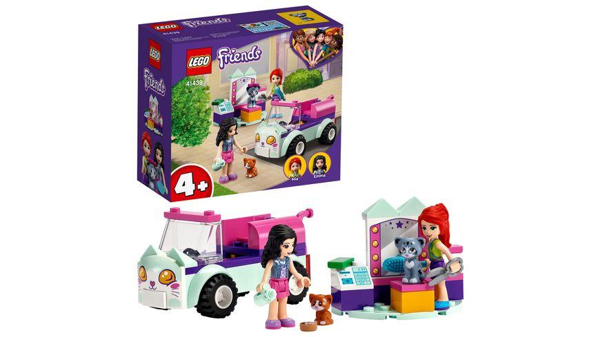 LEGO 41439 Friends Mobiler Katzensalon, Konstruktionsspielzeug