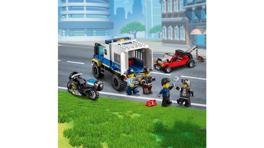LEGO City 60276 Polizei Gefangenentransporter