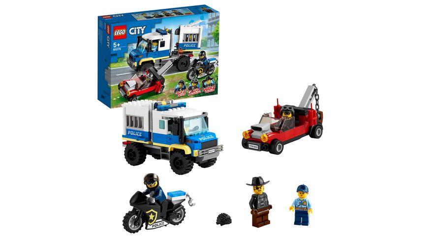 LEGO 60276 City Polizei Gefangenentransporter, Konstruktionsspielzeug