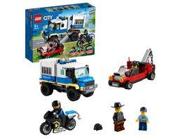 LEGO 60276 City Polizei Gefangenentransporter Konstruktionsspielzeug