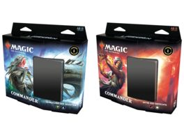 Magic the Gathering Commander Legends Commander Deck 1 Stueck sortiert