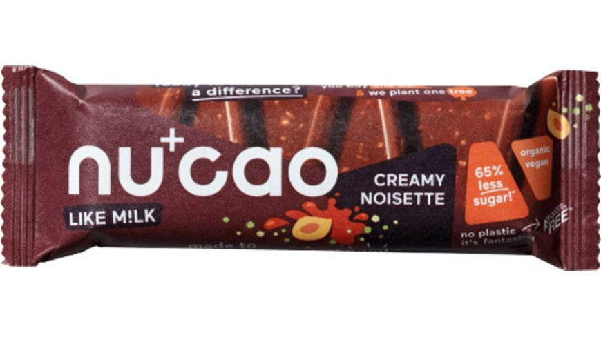 nucao Creamy Noisette Bio-Riegel