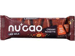 nucao Creamy Noisette Bio Riegel