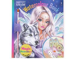 FANTASYModel Watercolour Book FAIRY