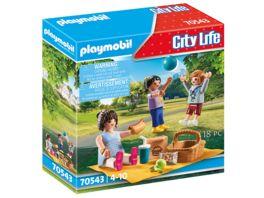 PLAYMOBIL 70543 City Life Picknick im Park