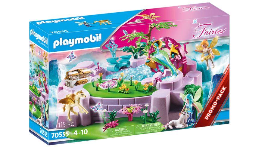 PLAYMOBIL 70555 - Fairies - Zaubersee im Feenland