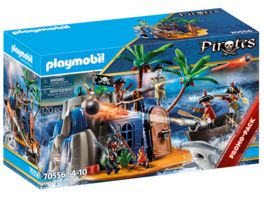 PLAYMOBIL 70556 Pirates Pirateninsel mit Schatzversteck
