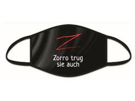 Hergo Mund und Nasenmaske Zorro trug sie auch
