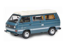 Schuco Edition 1 64 VW T3 Camper blau 1 64