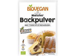 Biovegan Meister Backpulver