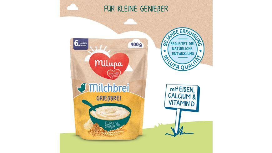 Milupa Milchbrei Mix 4er Pack ab dem 6 Monat