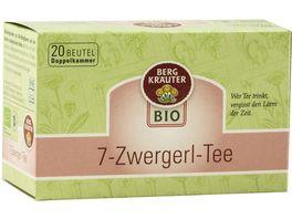 BERGKRAeUTER Bio 7 Zwergerl Tee im Doppelkammerbeutel