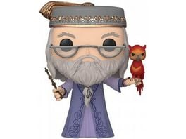 Funko POP Harry Potter Albus Dumbledore Fawkes 10 25 cm