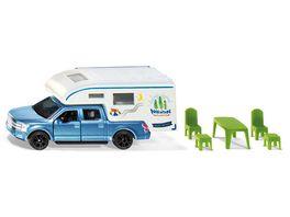 SIKU 1693 Super Ford F150 Pick Up Camper