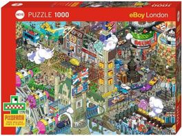 Heye Standardpuzzle 1000 Teile London Quest 1000 Teile