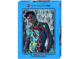 Heye Standardpuzzle 1000 Teile Timekeeper Sharing is Caring