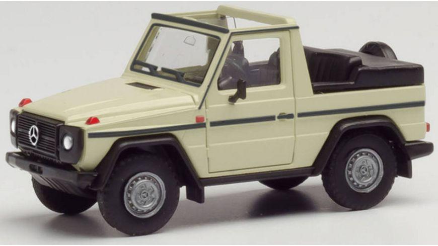 Herpa 420860 - Mercedes-Benz G-Modell Cabrio