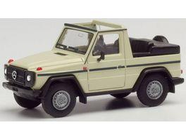 Herpa 420860 Mercedes Benz G Modell Cabrio