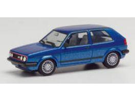 Herpa 430838 VW Golf II GTI mit Sportfelgen