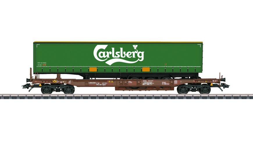 """Märklin 47112 - Taschenwagen """"Carlsberg"""""""