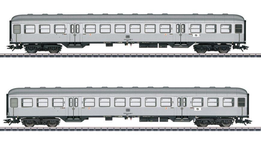 Maerklin 43147 Personenwagen Set Silberlinge