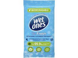 Wet Ones Be Fresh Feuchttuecher