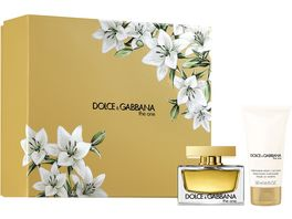 DOLCE GABBANA THE ONE Eau de Parfum Body Lotion Coffret