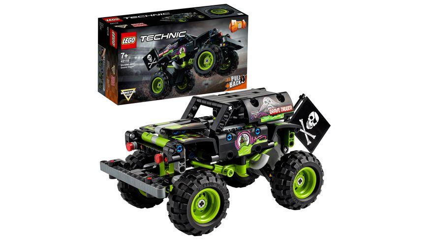 LEGO 42118 Technic Monster Jam  Grave Digger, Konstruktionsspielzeug